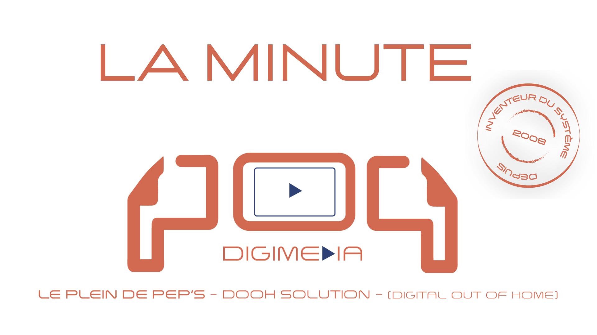 Minute PoP Digimedia Mai Publicité vidéo